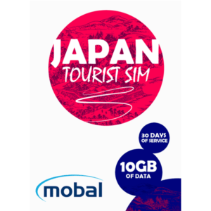 Mobal Japan Tourist SIM 10Gb