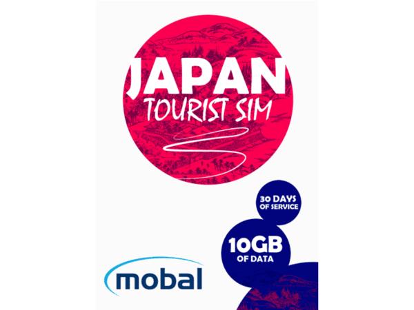 Mobal Japan Tourist SIM 10Gb