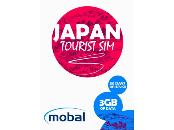 Mobal Japan Tourist SIM 3Gb